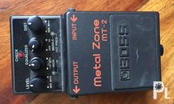 Boss Metal Zone MT2 Guitar Effects Condition: 100%