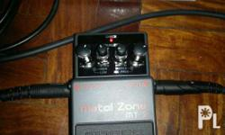 Boss metal zone mt2 pedal As good as new Rfs ndi natuto
