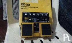 OverDrive/ Distortion Twin Pedal *22 incredible COSM