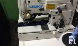 For sale Botton holer and botton sew Model: juki 780 or