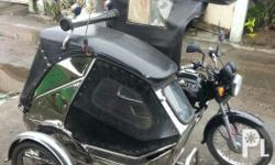Private use tricycle Boxer 150 with volvo stainless
