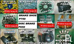 Selling Boxtype Lancer Parts Brand New TAIWAN *tubeless