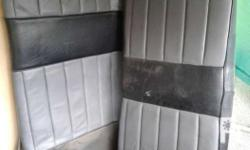 Mitsubishi lancer boxtype Stock rear seat. Looks very
