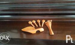 Boxwood fittings for full size (4/4) Undrilled pegs For