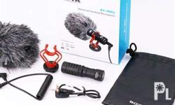 Compact on-camera microphone � Compatiable with