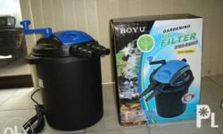 Now comes the latest in Pressurized Pond Canister