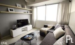 A newly turned over one BR condo for rent in Makati at