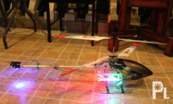 Deskripsiyon Brand New 1 meter long R/C Helicopter with