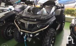 Brand new 2018 CFMOTO CFORCE 550 HO 4x4 ATV 4x4 full