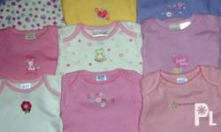 Brand new export-quality US-branded baby rompers for