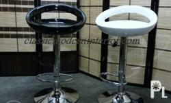 Cm 9037 bar stool. Available colors, Black, White,