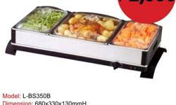 Buffet Server with Warming Tray Brand new and limited