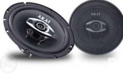 Brand New Akai Coaxial Speakers for only 1,500 pesos