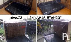 brand new collapsible cage ,dog cage - PET CRATES ?