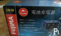 Brand new fujima cb-30 Will charge 12v and 24v battery