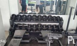 For Opening a brand new Gym for Business. For Upgrading