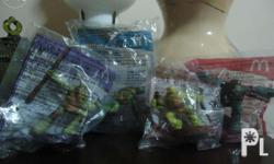 Brand New Happy meal toys.Toys are in good
