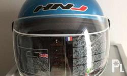 With clear anti-scratch visor RSF: Excess helmet