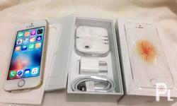 Iphone SE 64gb BRAND NEW with reciept Complete