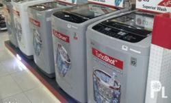 100%BRAND NEW LG TOP LOAD WASHER Also u have officiaal