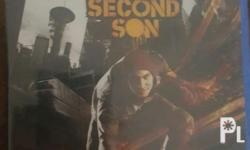 For sale brandnew sealed ps4 games second son sealed or