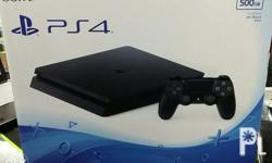 Brand new ps4 slim with 2 years warranty complete