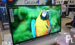 100% Brand New & Factory Sealed Sale TCL Led Tv For