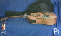 Original Thomson guitar with EQ5 built tuner FREE