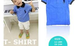 Branded Boy's T- shirt *** -* 100% combed-cotton