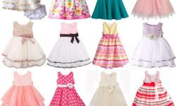 Branded Girls Dresses and Legging Sets High Quality,