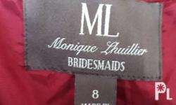 Pre-loved hard-to-find Monique Lhuiller Gown Can be