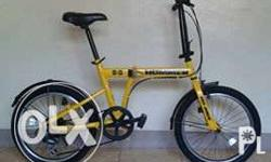 ASSORTED BRANDED FOLDING BIKES Hummer (Yellow) Php