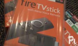 Brandnew and sealed Fire tv stick. Stocks available