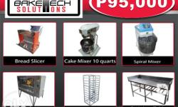 Bakery Equipment Package Php95,000 Gas Oven 12 Trays
