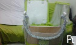 "Brandnew  color yellow green """"giant carrier'' playpen"