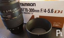 BRAND NEW Features The popular Tamron AF 70-300mm