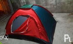 Brandnew tent complete set with bag good for 4-5