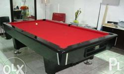 Universal pro deluxe pool billiard table introductory