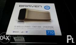 Braven 710 Pristine condition Can pass as brand new