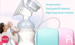 Painless Breast PumP made of high grade and pp silicon