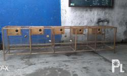 FOR SALE Bird Cage For Breeders. Almost Brand New...