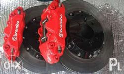 For sale brembo break kit 4pot. Yaris civic fd fb jazz