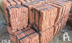 100% natural clay bricks Fire Resistant ( may be used