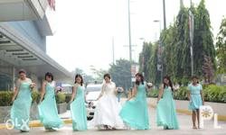 RENTAL RATE Bridal Gown - 3000 to 5000php Bridesmaids
