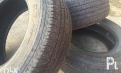 Bridgestone Dueler 265 65 R17 4 pcs. for monero