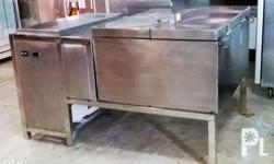 Brine Immersion Freezer 750Kgs/Day Capacity Portable,
