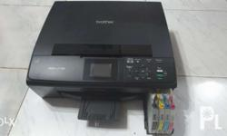 Brother DCP-J125 3in1 Printer Converted to continues