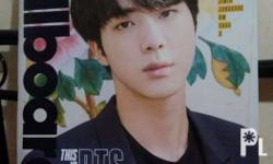 BTSxBillboard Magazine (Jin version) *With poster and