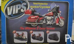 Brand new Budge VIPS 2 cover system motorcycle cover