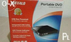 Portable DVD (Buffalo) Complete & Brand New Details: